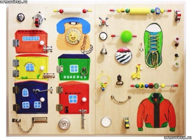 Как самим сделать развивающие игрушки